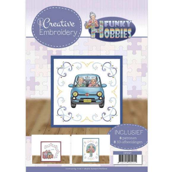 Creative Embroidery Book 21 - Funky Hobbies