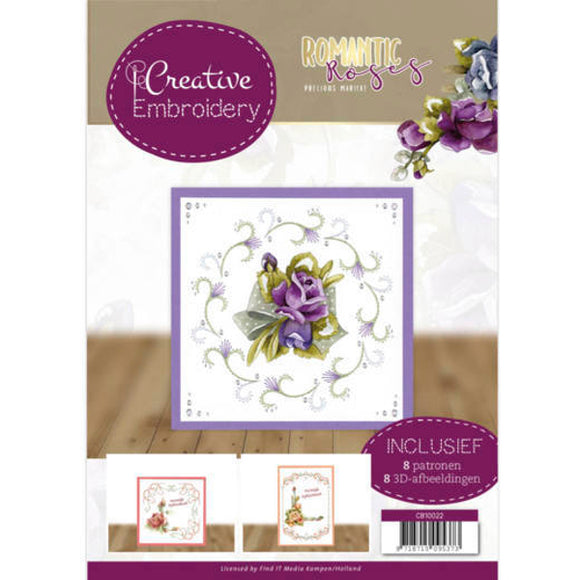 Creative Embroidery Book 22 - Romantic Roses