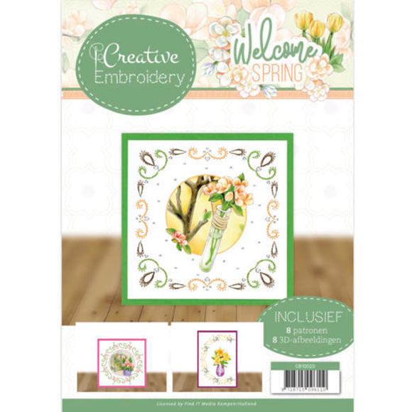 Creative Embroidery Book 23 - Welcome Spring