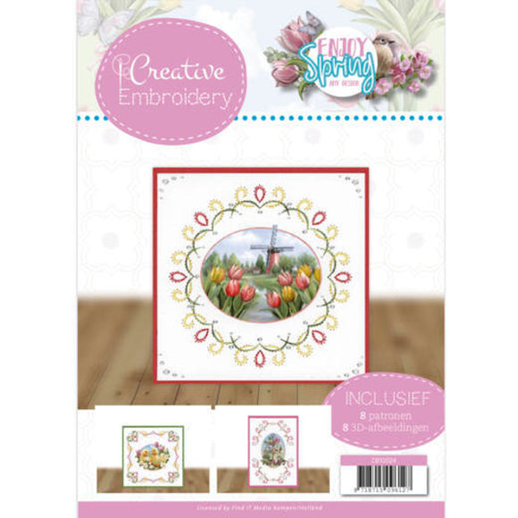Creative Embroidery Book 24 - Enjoy Spring