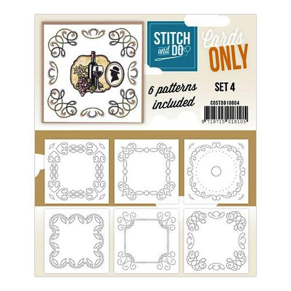 Stitch & Do Card Only Set 04