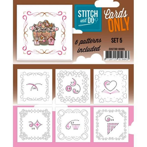 Stitch & Do Card Only Set 05