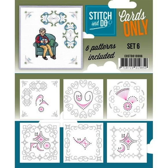 Stitch & Do Card Only Set 06