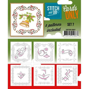 Stitch & Do Card Only Set 07