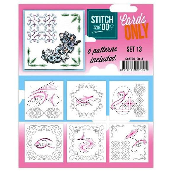Stitch & Do Card Only Set 13