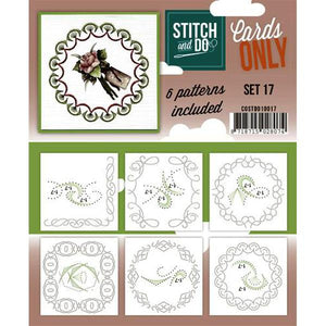 Stitch & Do Card Only Set 17