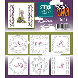 Stitch & Do Card Only Set 18