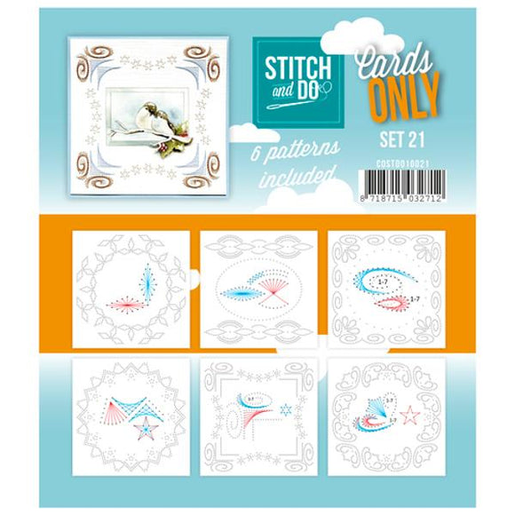Stitch & Do Card Only Set 21