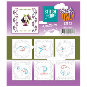 Stitch & Do Card Only Set 22
