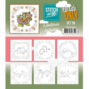 Stitch & Do Card Only Set 26