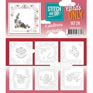 Stitch & Do Card Only Set 29