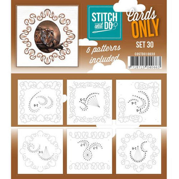 Stitch & Do Card Only Set 30