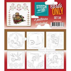 Stitch & Do Card Only Set 34