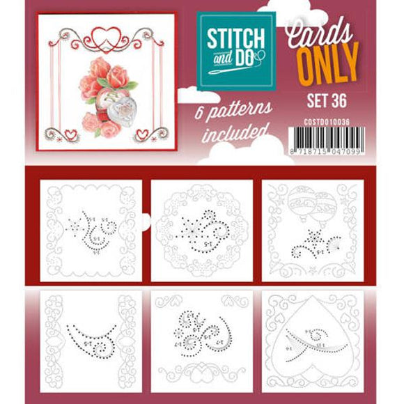 Stitch & Do Card Only Set 36