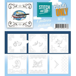 Stitch & Do Card Only Set 40