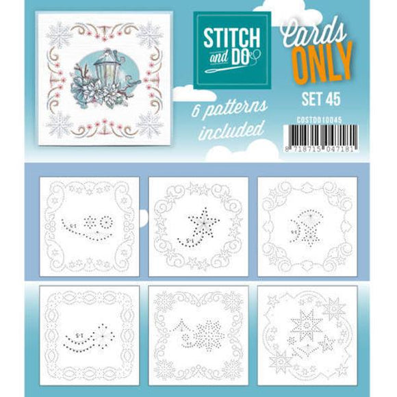 Stitch & Do Card Only Set 45