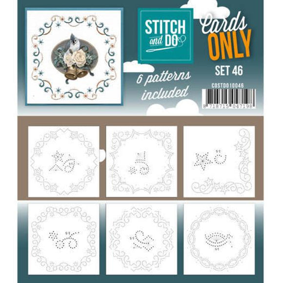 Stitch & Do Card Only Set 46