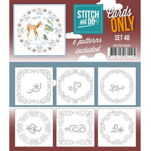 Stitch & Do Card Only Set 48
