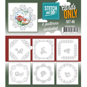 Stitch & Do Card Only Set 49
