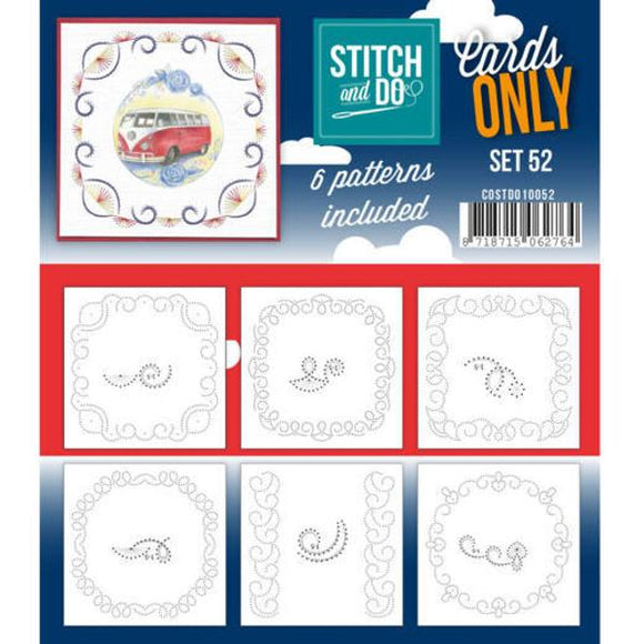 Stitch & Do Card Only Set 52