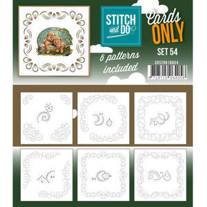 Stitch & Do Card Only Set 54