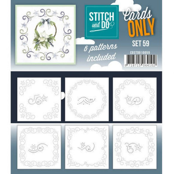 Stitch & Do Card Only Set 59