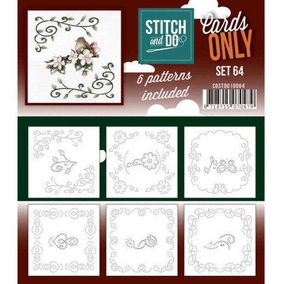 Stitch & Do Card Only Set 64