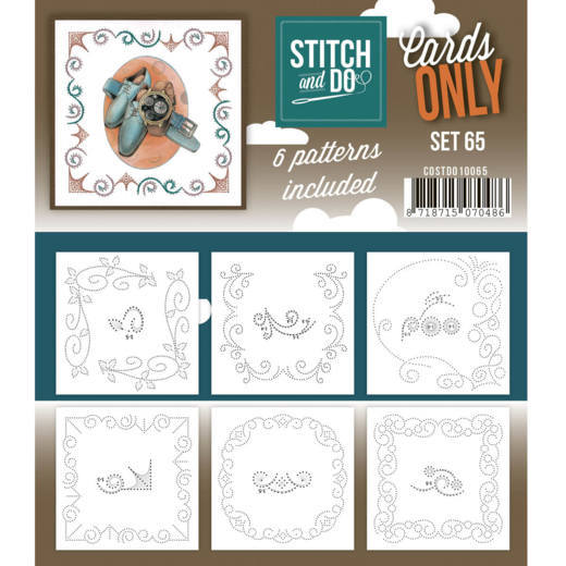 Stitch & Do Card Only Set 65