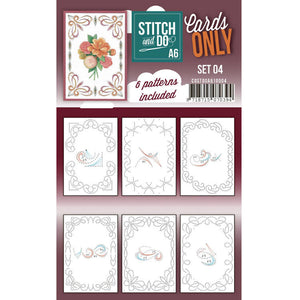 Stitch & Do Card Only A6 Set 04