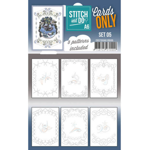 Stitch & Do Card Only A6 Set 05