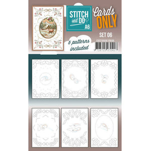 Stitch & Do Card Only A6 Set 06