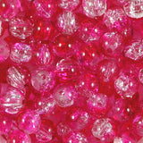 8mm Crackle Glass Beads Pack of 50