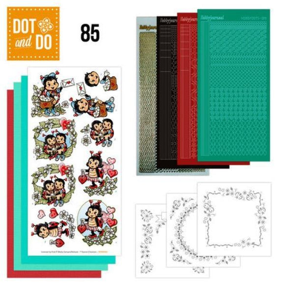 Dot & Do Kit 085 Ladybirds