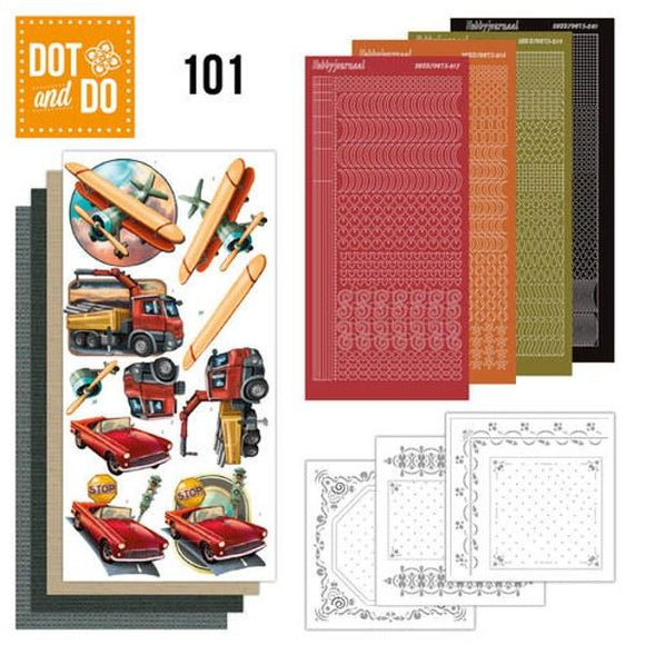 Dot & Do Kit 101 Vintage Vehicles