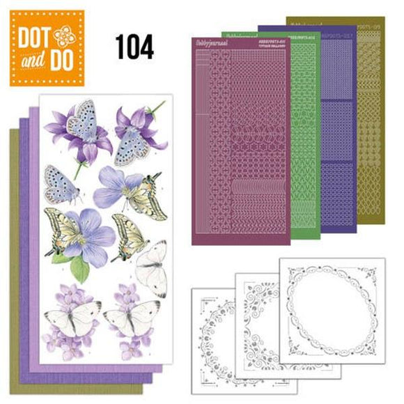 Dot & Do Kit 104 Butterflies