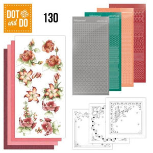 Dot & Do Kit 130 Timeless Red Flowers