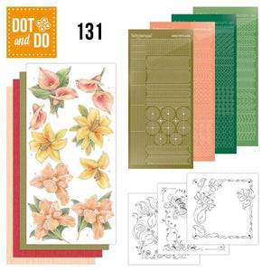 Dot & Do Kit 131 Yellow Flowers