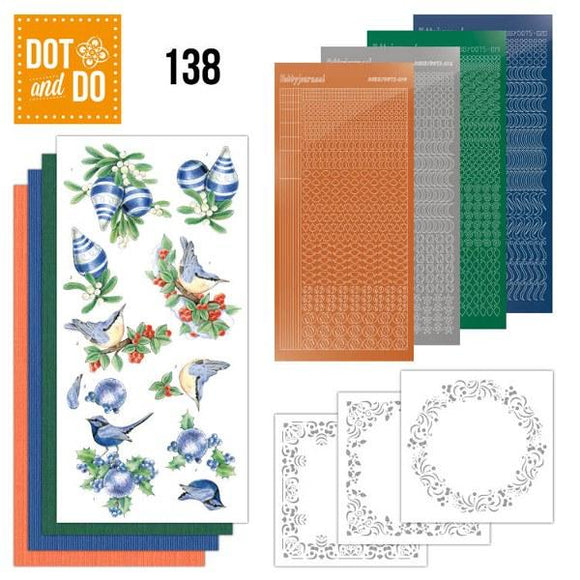 Dot & Do Kit 138 Blue Christmas