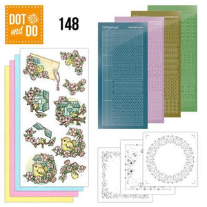 Dot & Do Kit 148 Spring Birdhouses
