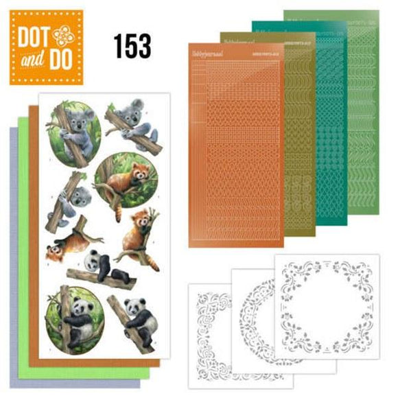 Dot & Do Kit 153 Wild Animals