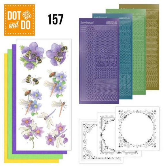 Dot & Do Kit 157 Bees & Dragonflies