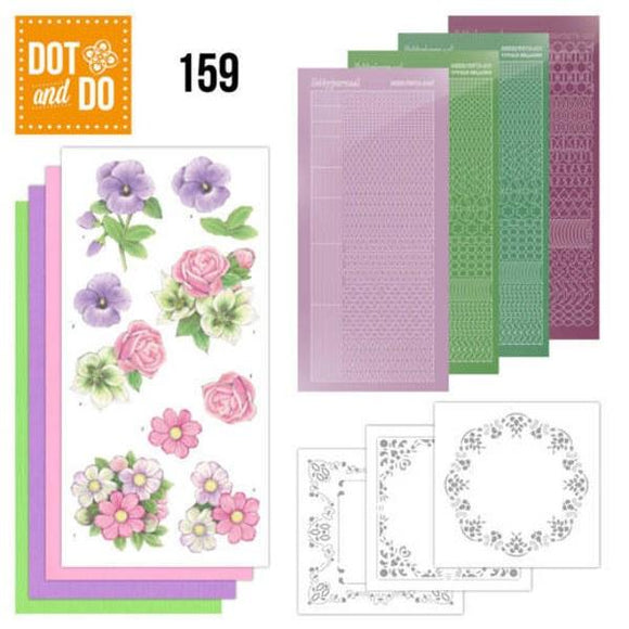 Dot & Do Kit 159 Summer Flowers