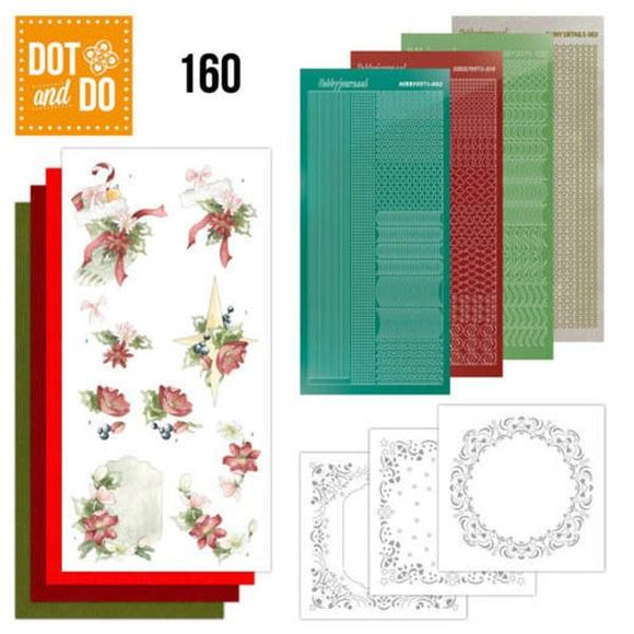 Dot & Do Kit 160 Red Christmas Ornaments