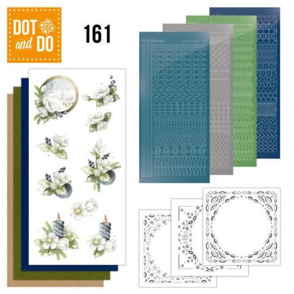 Dot & Do Kit 161 Amaryllis and Blueberries