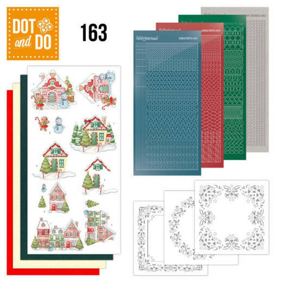 Dot & Do Kit 163 Sweet Houses