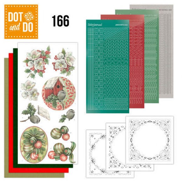 Dot & Do Kit 166 Christmas Decorations