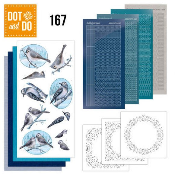 Dot & Do Kit 167 Winterfriends