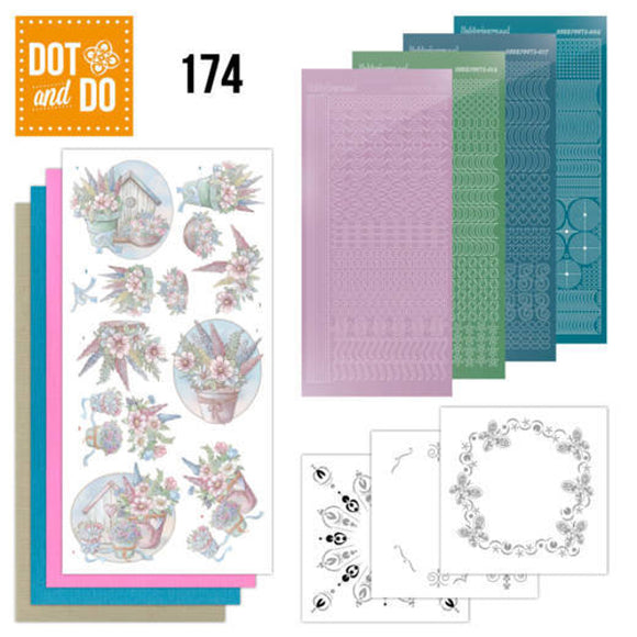 Dot & Do Kit 174 Flowers in Pastel