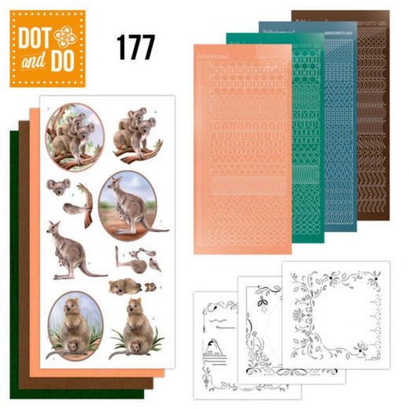 Dot & Do Kit 177 Wild Animals