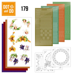 Dot & Do Kit 179 Delicate Flowers - Orchid